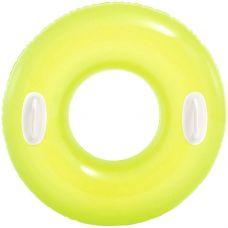 Круг Hi-gloss 76см, от 8лет, 3 цв grt-И59258 INTEX 282 р. Надувные круги