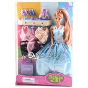Кукла Defa Люси в вечернем платье с аксесс.  BOX арт. 8012