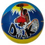 Мяч баск. №5 резин., цветной ,