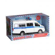 Инерц. маш. Play Smart BOX Автопарк, микроавтобус в ассортименте, BOX 23x12x11см, арт.9098-D