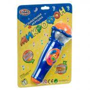 Музыкал. игрушка микрофон Play Smart, PVC 26*19см, арт. 7043.