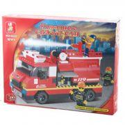 Констр. SLUBAN пласт. разобр.BOX Пожарные спасатели, арт. M38-B0220R.