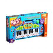 Игрушка пласт. на бат. BOX 40*22*6см Musical Star Синтезатор арт. HK-8030A