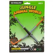 Игр. пласт. CRD 18*9,5*1 см Jungle Animal World Страус арт. W04777-4