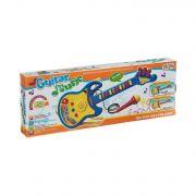 Муз.инстр. Электро-гитара с микрофоном ВОХ 45*16*4,5см Music Guetar YoYo, арт.719