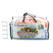 Маленькие шарики 6,5см для игр в сумке (100шт) от 2 лет