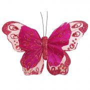 н.г.бабочка 15х10см в пак 4цв.