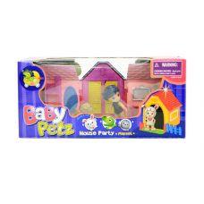 Набор игровой животн. с куклой House Party, BOX 29x13x10 см, 3 вида, арт.093001ABC. grt-Д40485 620 р. Игровые наборы с фигурками