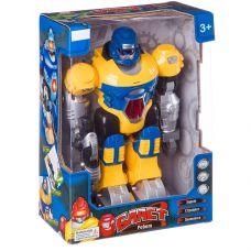 Робот Бласт на батар.,ходит,свет.,озвуч,подвижн.руки и голова,жёлтый,ВОХ 20х11,5х28см,арт.ZYC-0752-4 grt-Б40593 ZHORYA 1 283 р. Роботы
