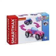 Магнитный конструктор SmartMax/ Bondibon Специальный (Special) набор: Розовый и Фиолетовый, арт.115.