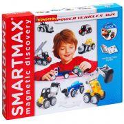 Магнитный конструктор SmartMax/ Bondibon Специальный (Special) набор: Мощная техника, арт. 303.