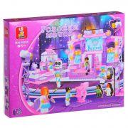 Констр. SLUBAN пласт. BOX Розовая мечта, 430 дет, арт. M38-B0255R.