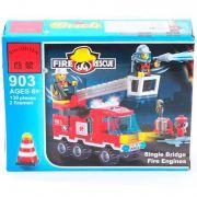 Конструктор пласт. Fire Rescue, 130 дет, 18*14*4,5см, BOX, ENLIGHTEN арт.903