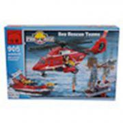 Конструктор пласт. Fire Rescue, 404 дет, 41*28*6,5см, BOX, ENLIGHTEN арт.905