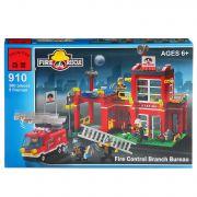 Конструктор пласт. Fire Rescue, 380 дет, 41*28*6,5см, BOX, ENLIGHTEN арт.910