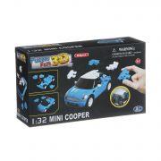 Констр. 3D Puzzle BOX 22x5x3см,1:32 Mini Cooper 66 дет.,матовые, арт. 57070.