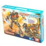 Констр. пласт. Play Smart Супергерой,250 дет.,2в1 робот-пёс, BOX 36х25х6см, арт. 8122.