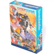 Констр. пласт. Play Smart Супергерой,143 дет.,2в1 робот-истребитель, BOX 27х20х5см, арт. 8116.