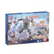 Констр. пласт. Play Smart Супергерой,285 дет.,2в1 робот-свехзвук.истребитель, BOX 36х25х6см,арт.8123