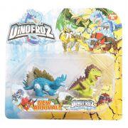 Набор динозавров 2 шт., Dinofroz, 6 видов, CRD 13х14 см., арт. 61499