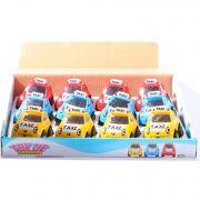 Игр. пласт. смешные маш., такси, набор 12 шт., BOX 29,5х24,5х6 см., арт. 8050A