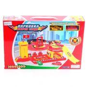 Игровой набор Пожарная станция с 2машинами, BOX  ,арт.ZYB-B1311-1.