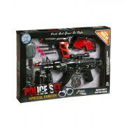 Набор оружия, полиция, Box 38х5х33 см., арт. PE-05