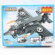 Констр.пласт.Creator 3 вида Самолет, вертолет, глиссер 177 дет.арт.3009 BOX 26*20,5*5,5 см
