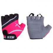 Перчатки STG летние быстросъемные с защитной прокладкой,застежка на липучке