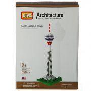 Констр. пласт. BOX 24х17х5см, 550 дет.,башня Куала-Лумпур, арт.9368.