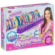 Набор для плетения из резиночек со станком, Play Smart,радужные Фенечки,BOX 25,8x4,5x20,5см,арт.2604