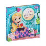 Набор Я дизайнер, Bondibon, сделай сумку из пластин 21х23,5 см., роз-сирен, Box 25,4x25,4x4 см., арт