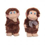 керам.фигурка обезьянка  8см 2в.