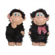 керам.фигурка обезьянка  10см 2в.