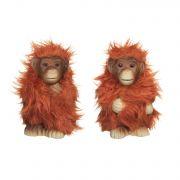 керам.фигурка обезьянка  6,5х5,5х11см 2в.