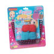 Набор Я дизайнер, Bondibon, сделай сумку из хлопковых нитей 20x15 см, CRD 21x23 см, арт. P/CO