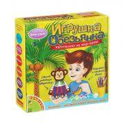 Набор для дет.творчества Игрушка из шар-папье обезьянка (девочка), BONDIBON