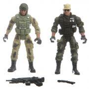 Набор два солдата с оружием РАС,3 вида, арт.5898-A66.