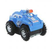 Игр. пластм. на бат.джип полиции 4WD, ВОХ 11,5х9,5х9 см, арт.GS-91.
