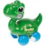 Игрушка пласт. заводная, динозаврик, РАС 10х7х5 см, арт.6618.