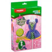 Набор Paulinda, Fashion style, с манекеном и массой для лепки, фиолет., арт. 081482-3