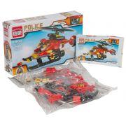 Констр. ENLIGHTEN пласт. Police, 111 дет., 1 фигурка пилота,  BOX, арт. 1902.
