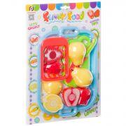 Игровой набор овощи и фрукты, резка на липучках , CRD 35x25x3 см, арт. F6206