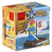 Констр. ENLIGHTEN пласт. Pirates Series, 34 дет., BOX 7*7*4,5 см., арт. 1201