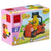 Констр. ENLIGHTEN пласт. Girls Series, 34 дет., BOX 9,5*7*4,5 см., арт. 1205