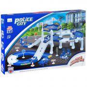 Набор игровой станция полиции с машинками и вертолётом, ВОХ 45,5х7х31 см, арт.P6088