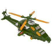 Игр. пласт. на бат. военный вертолёт, PVC 16x14x42 см, 2 вида, арт. KY80306-4.