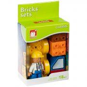 Констр. пласт. крупн. детали Bricks sets, стройка, BOX 10x13x5,5см, арт.C2312.