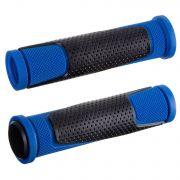 Грипсы HL-G305, 125 мм, черные/синие
