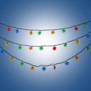 н.г. эл.гирлянда LED Бабочки 36 ламп 3,6м